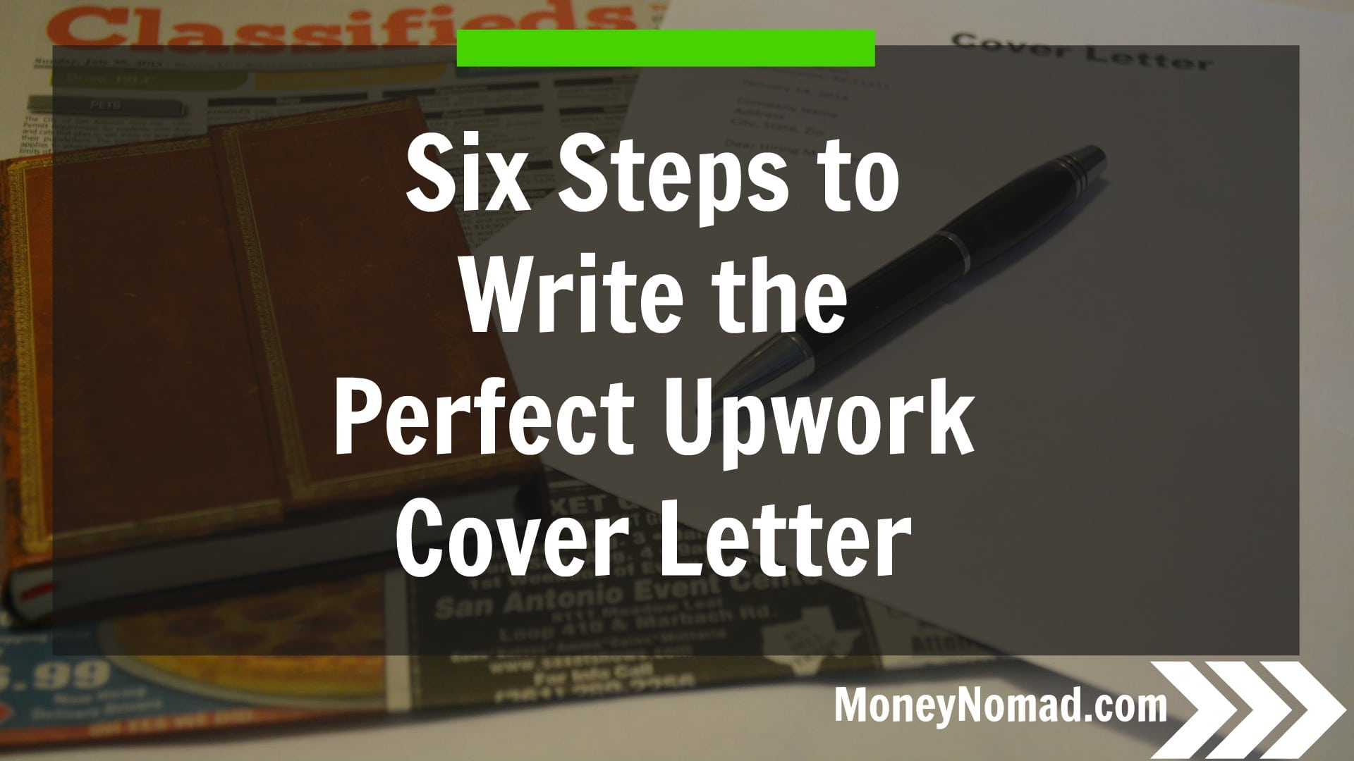 six steps to writing the perfect upwork cover letter money nomad. Resume Example. Resume CV Cover Letter